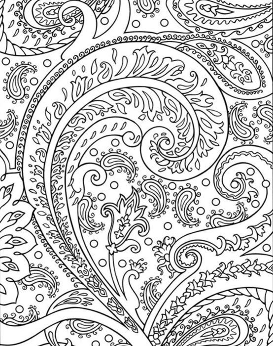 Coloring Pages For Adults Abstract To Print