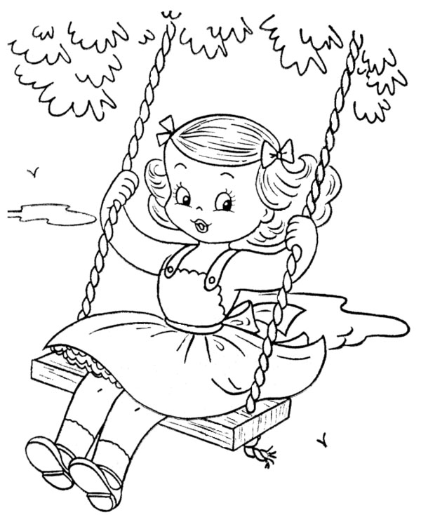 girls free coloring pages - photo#2