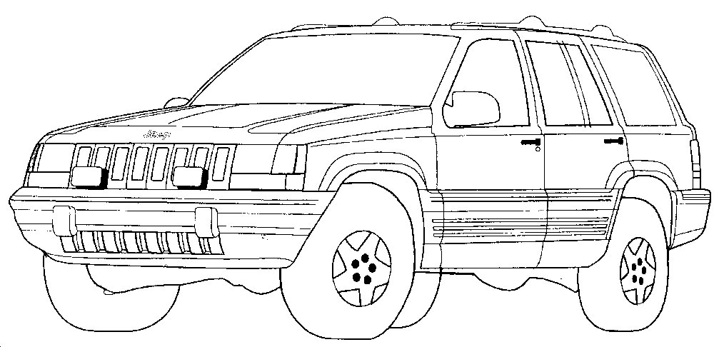 Coloring Pages for Boys Car