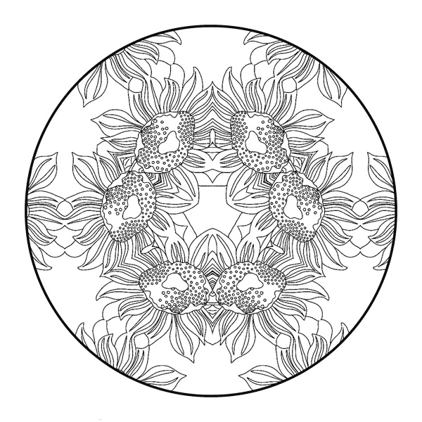 Free difficult coloring pages for adults for Coloring pages for adults difficult flower