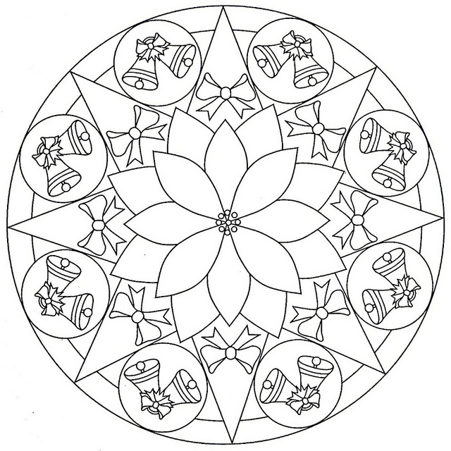 Free Coloring Pages For Adults Mandala Printable