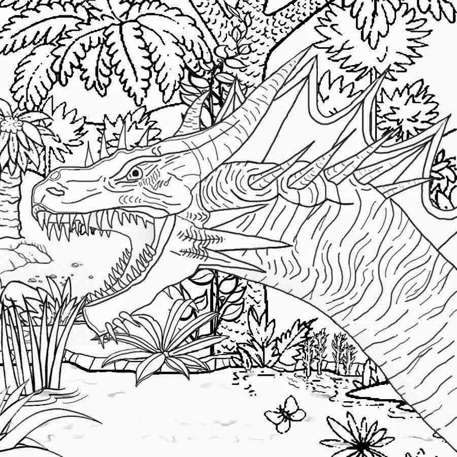 hard coloring pages for free - photo#15