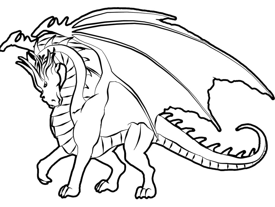 How To Train Dragon Coloring Pages Free