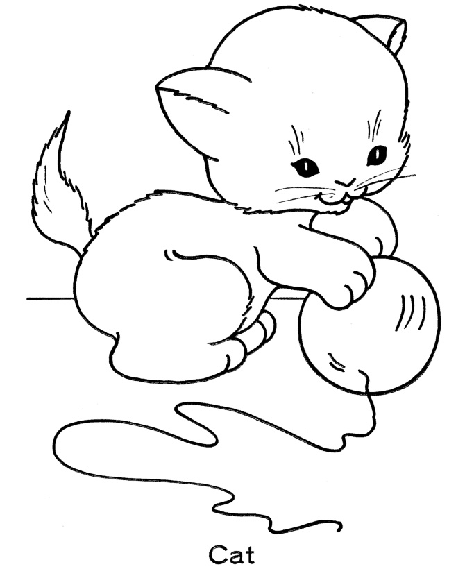 nice ideas of christmas kitten coloring pages funny cat dog