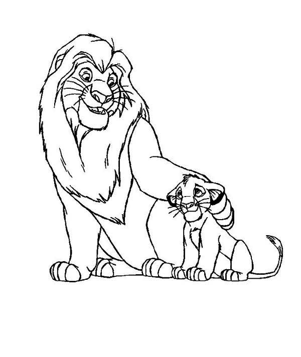 Printable The Lion King Coloring