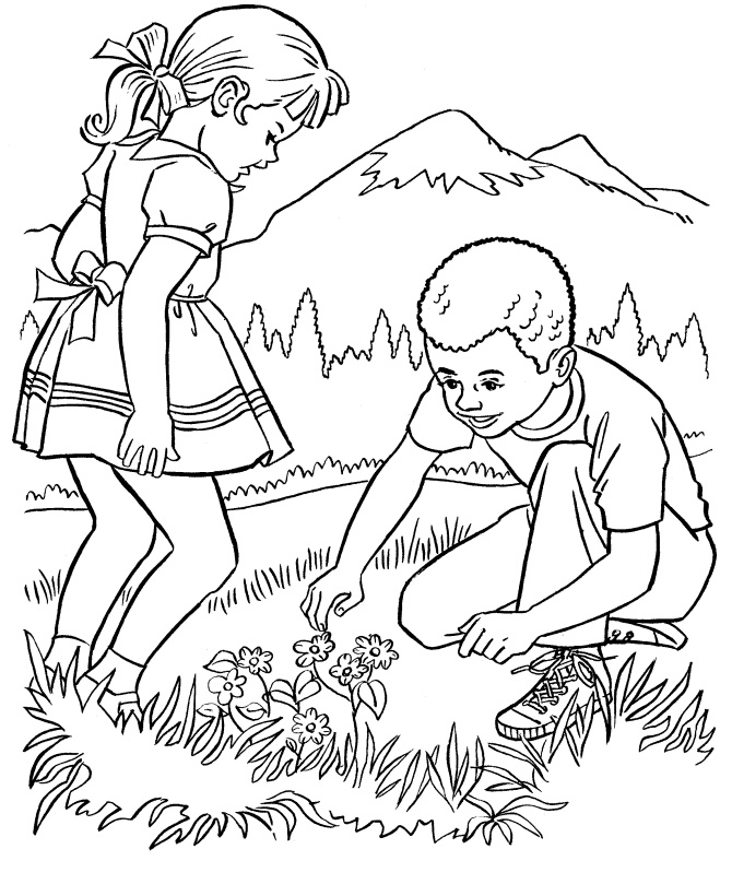 Nature Coloring Pages For Adults 1