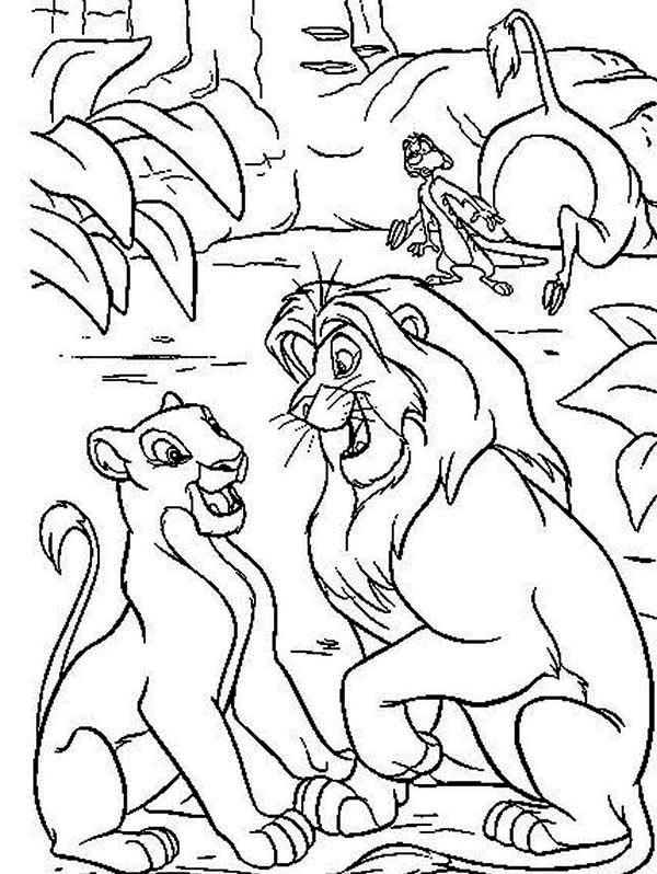 The Lion King Coloring Pages FreeThe Lion King Coloring Pages Free
