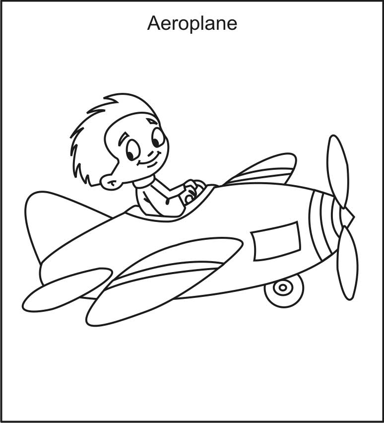 southwest airplane coloring pages - photo#48