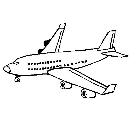 free vintage airplane coloring pages - photo#27