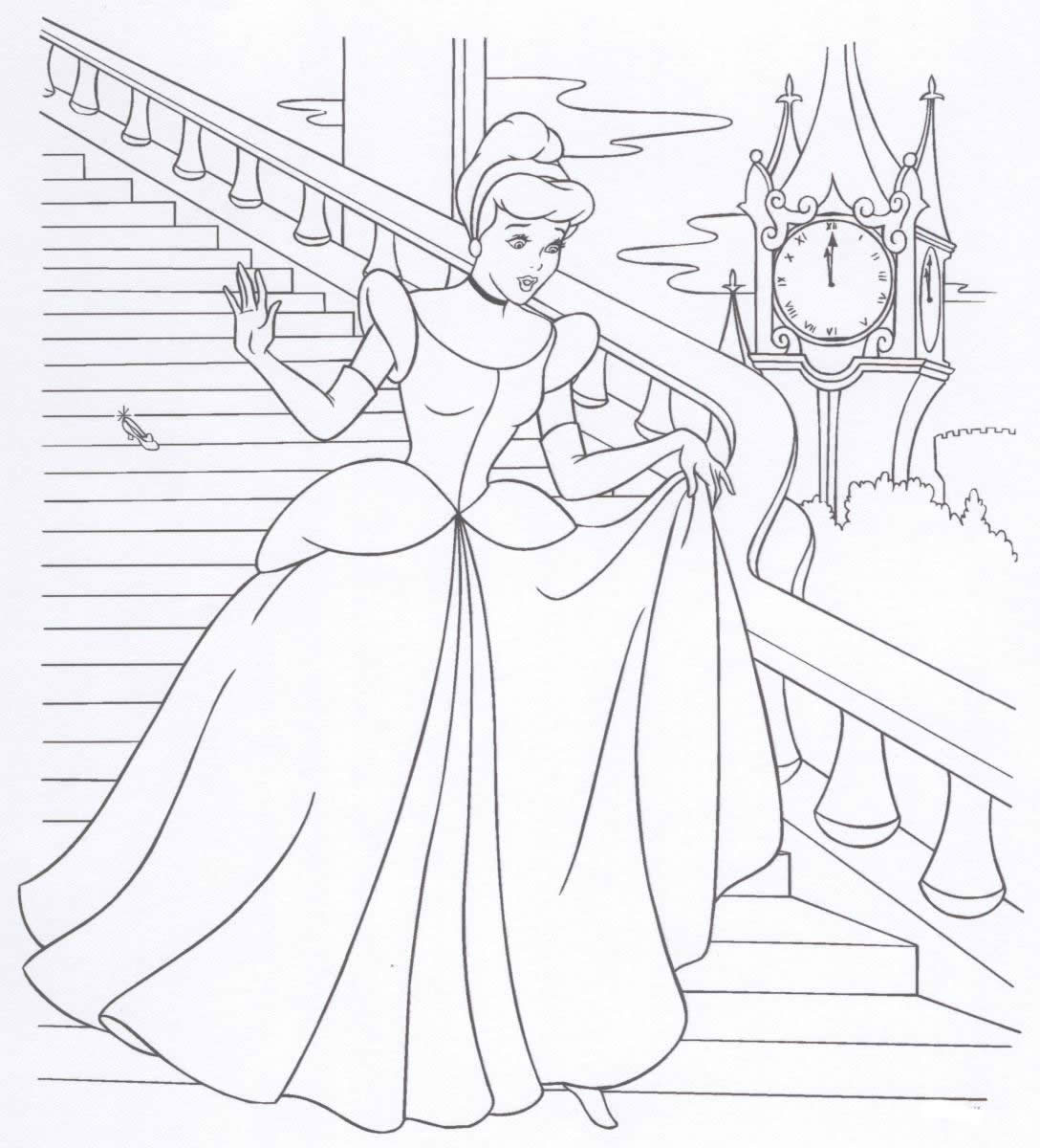 Barbie Coloring Pages Princess