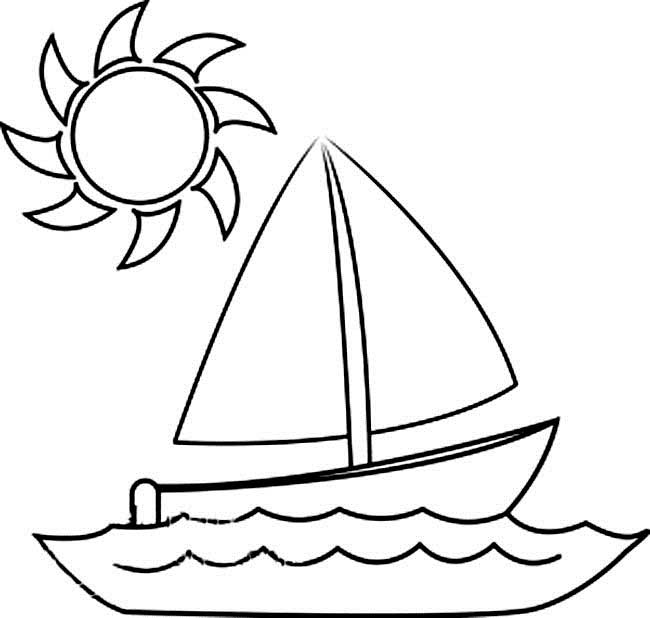 Boat Boat Coloring Pages To Print