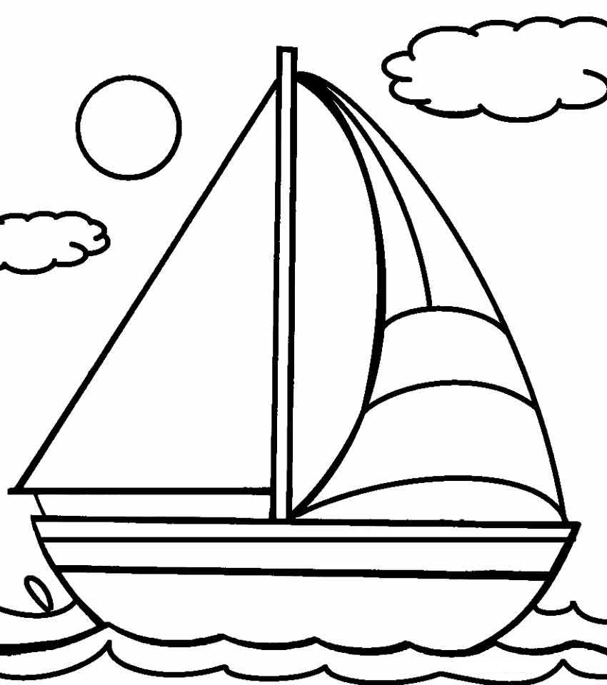 nile boats coloring pages - photo#34