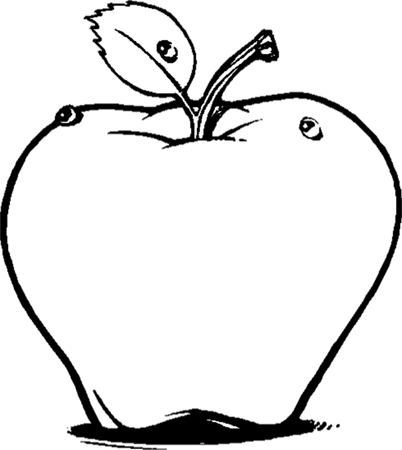 Fruits Coloring Pages For Kindergarten