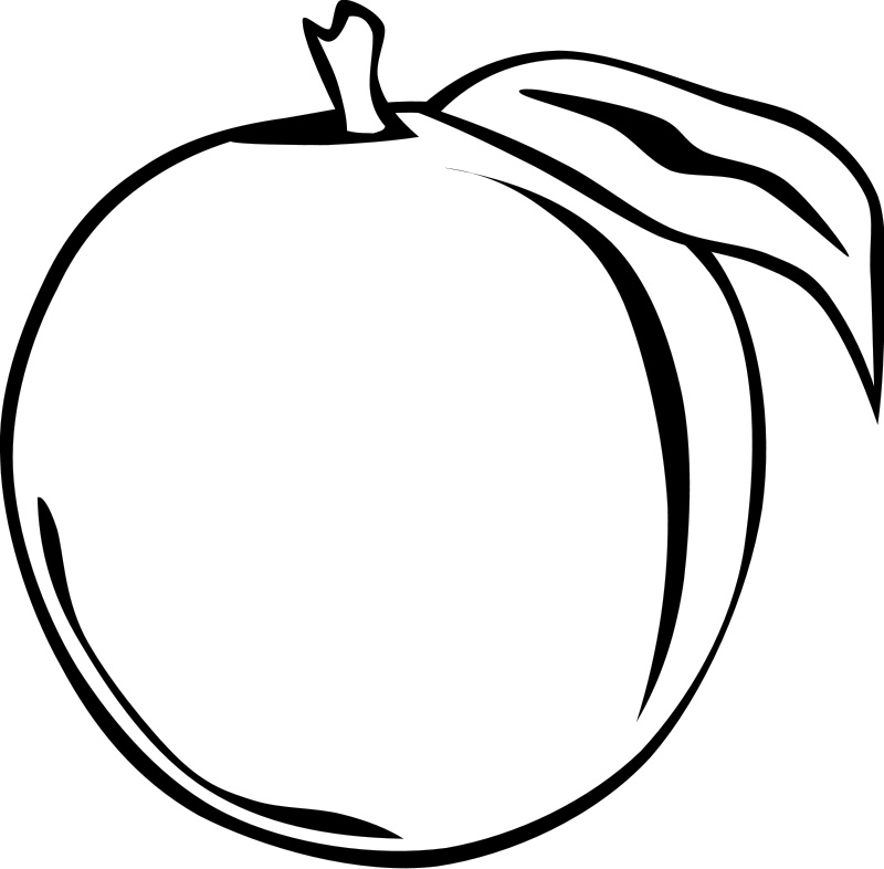 fruit coloring pages free - photo#35