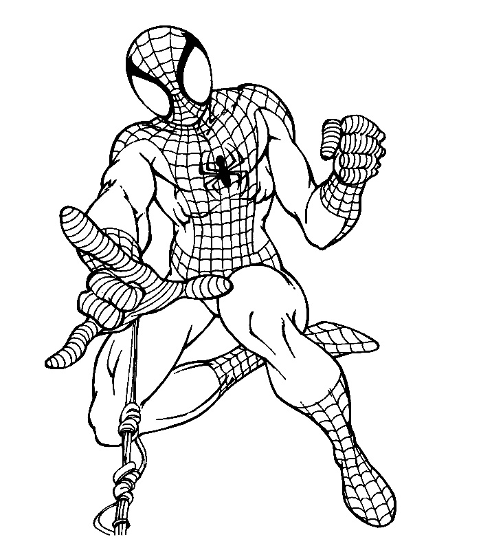 spiderman coloring pages to print - Lego Spiderman Coloring Pages
