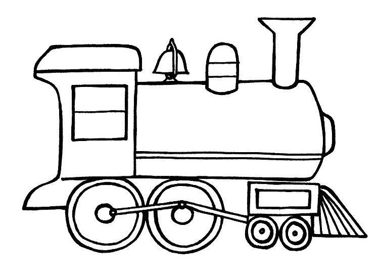 trucks and trains coloring pages - photo#9