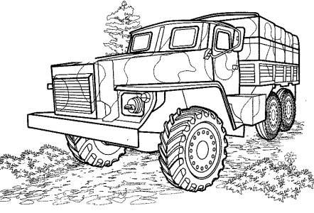 40 free printable truck coloring pages download. Black Bedroom Furniture Sets. Home Design Ideas