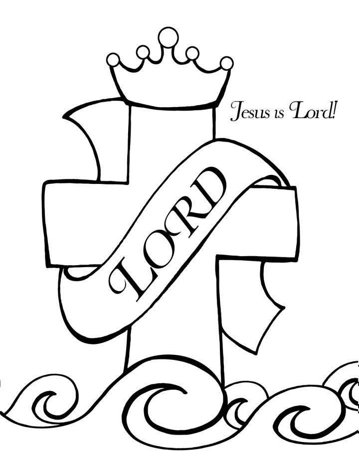 Christian Coloring Pages For Toddlers