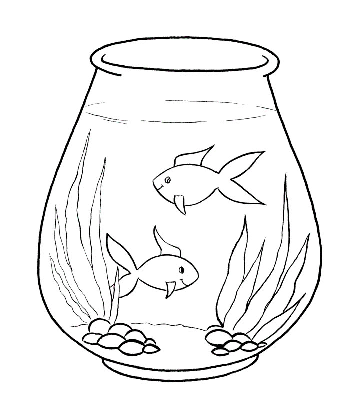 Fish coloring pages free download for Fish coloring pages for preschool