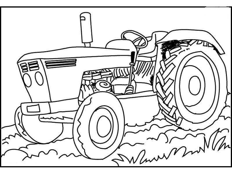 Ford Tractor Coloring Pages