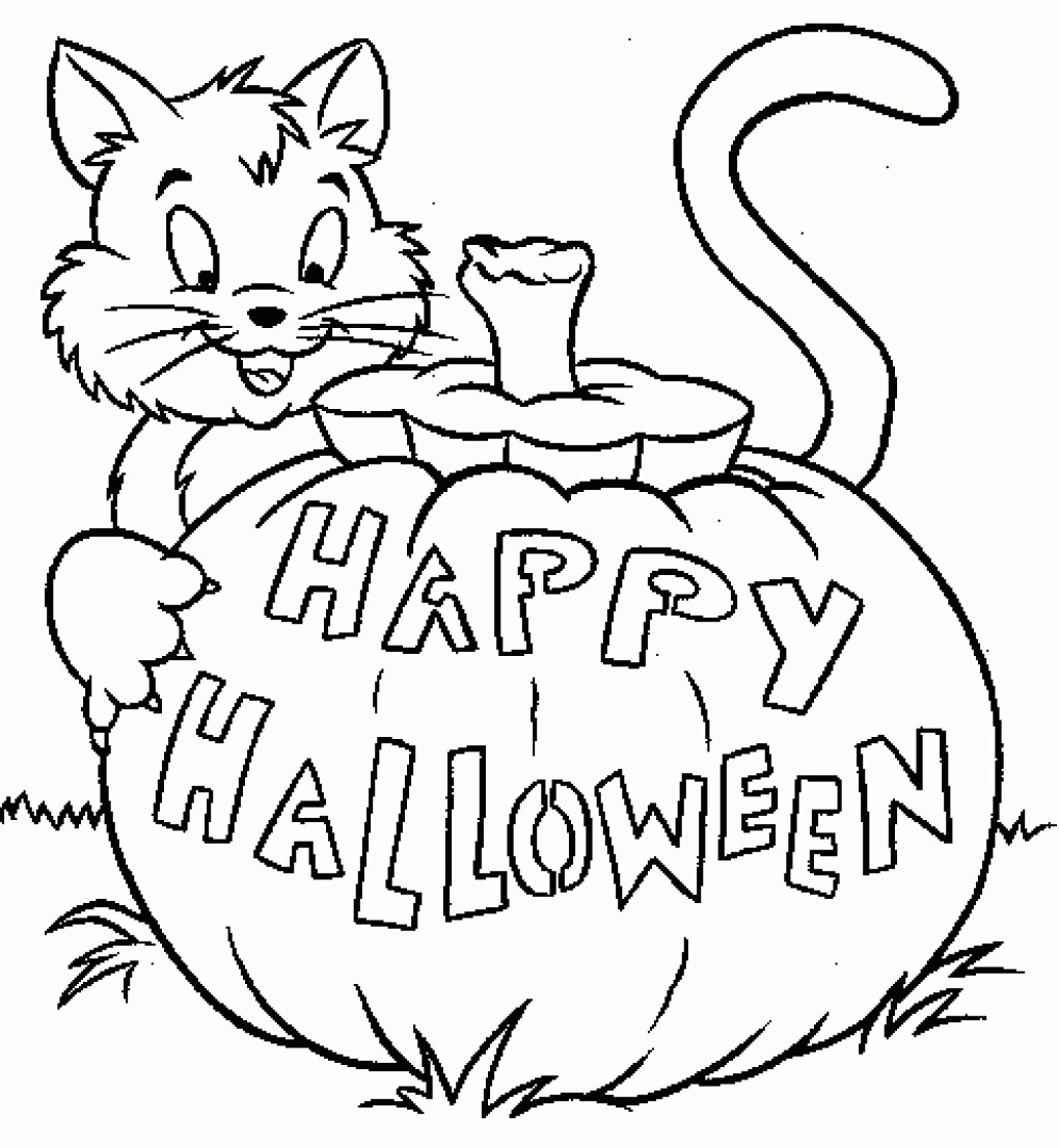 halloween coloring pages free - Free Halloween Pictures To Download