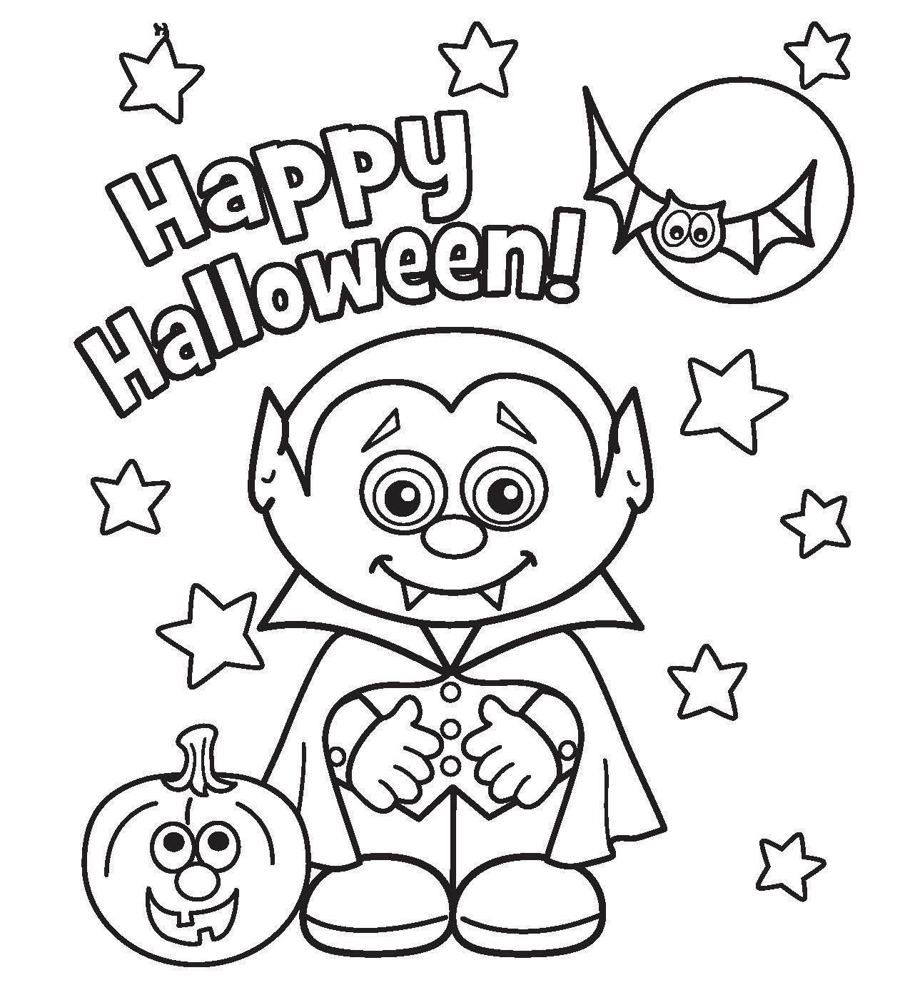 halloween coloring pages printable - Free Halloween Pictures To Download