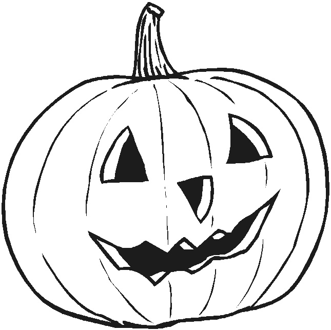 Pumpkin Coloring Pages To Print Interesting Halloween Pumpkin