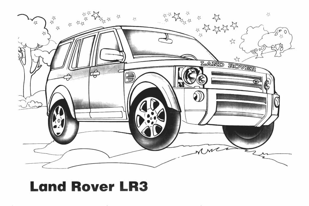 Jeep Coloring Pages Print