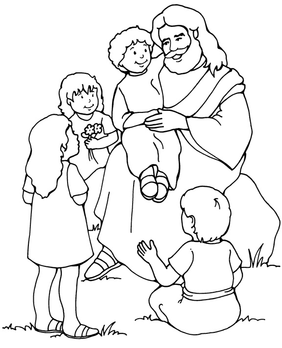 god coloring pages kids - photo#20