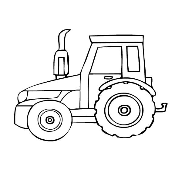 tractors coloring pages to print - photo#20