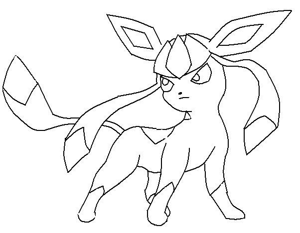pokemon coloring pages eevee  Coloring Pages For Kids and All Ages