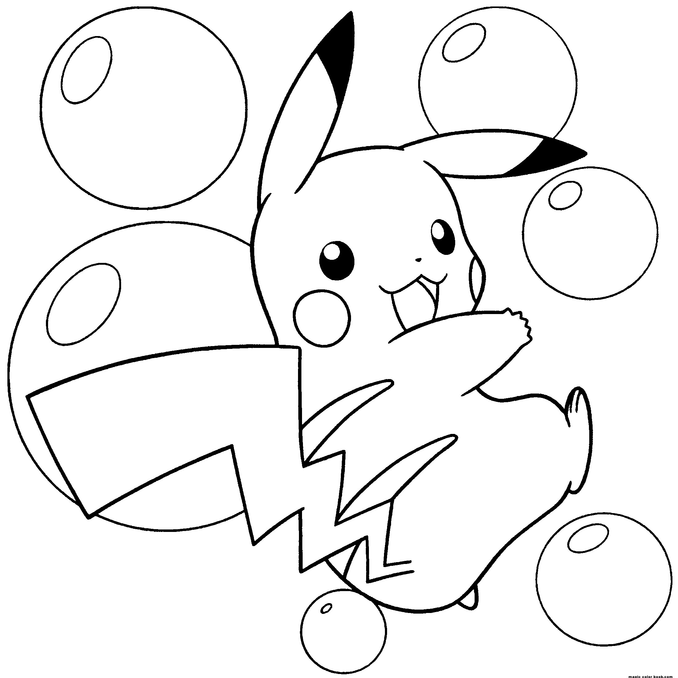 Pokemon coloring pages eevee evolutions glaceon - Pokemon Coloring Pages Pikachu
