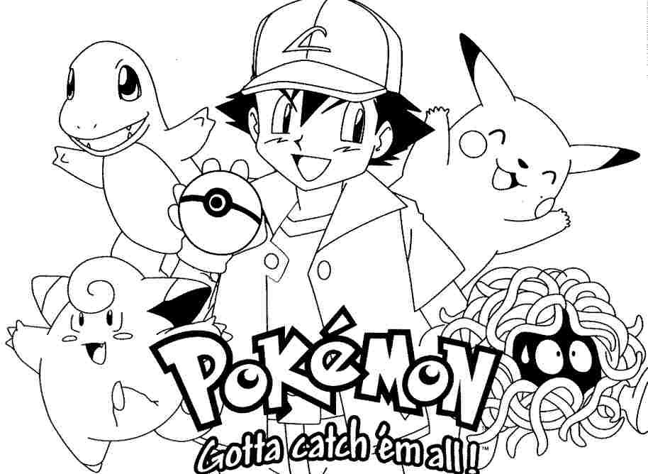 pokemon coloring pages free printable - photo#10