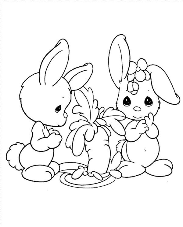 Easy printable precious moments coloring pages for Precious moments coloring page