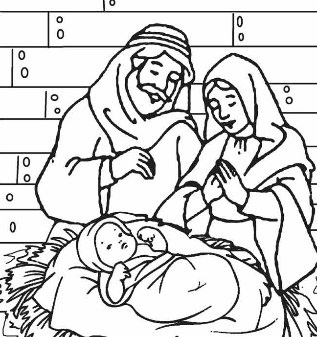 Precious Moments Baby Jesus Coloring Pages