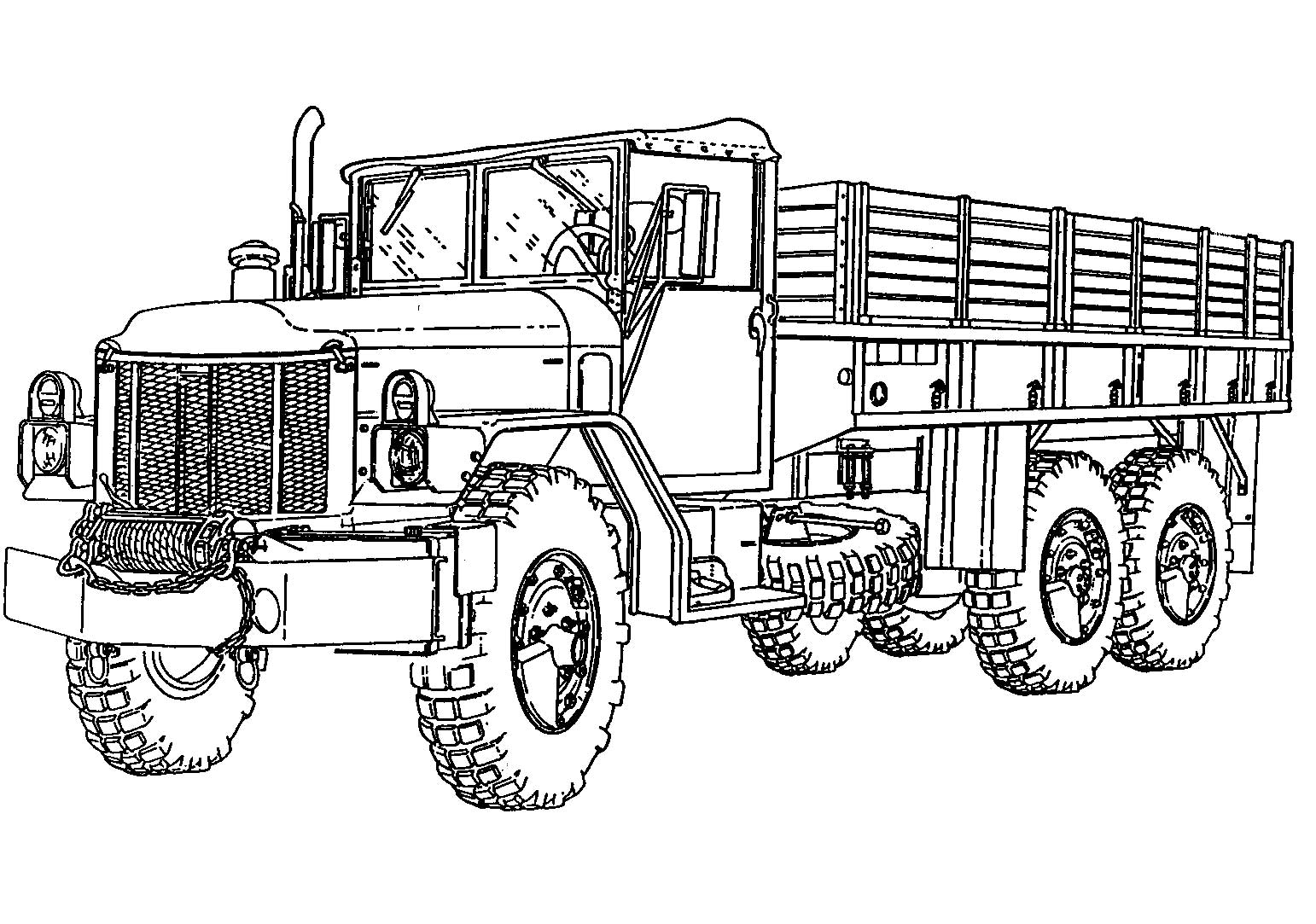 tanker truck coloring pages