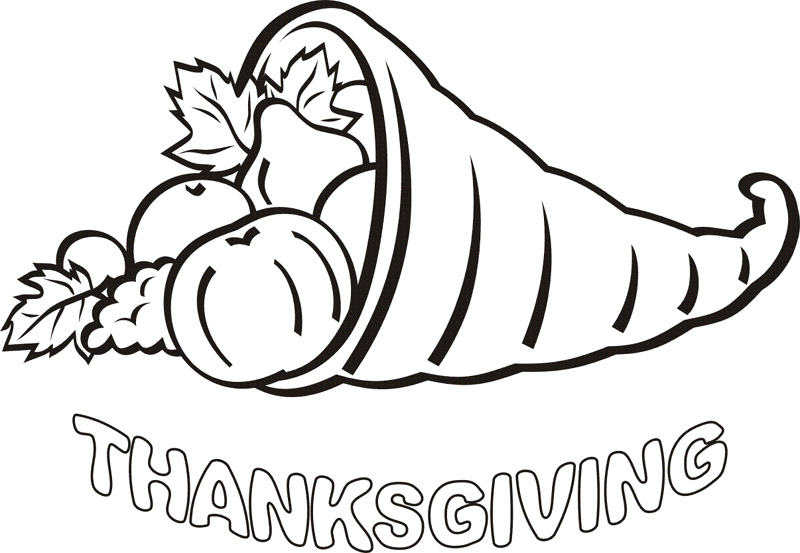 Thanksgiving Coloring Pages To Print Coloring Pages