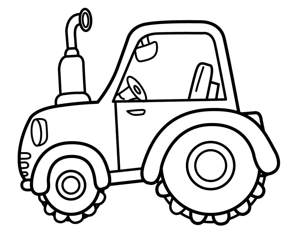 tractors coloring pages to print - photo#39