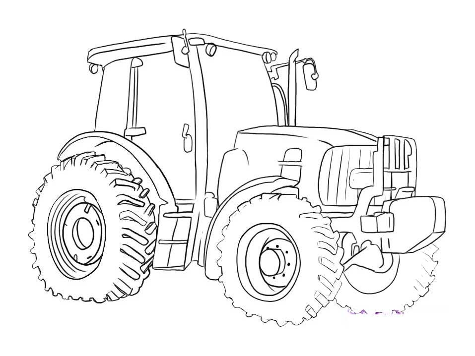 Tractor Coloring Pages For Toddlers Coloring Pages
