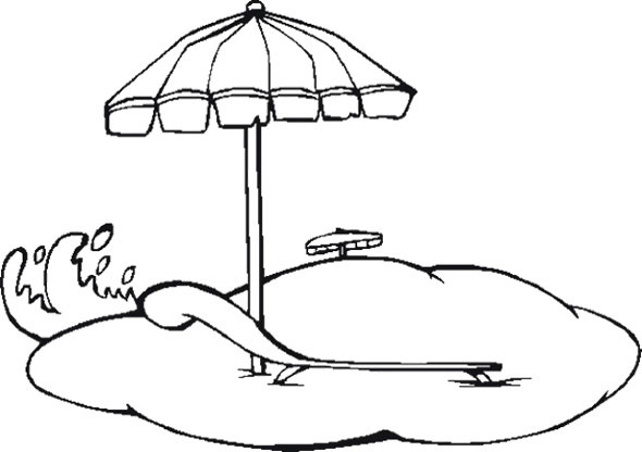 Umbrella Coloring Pages For Download