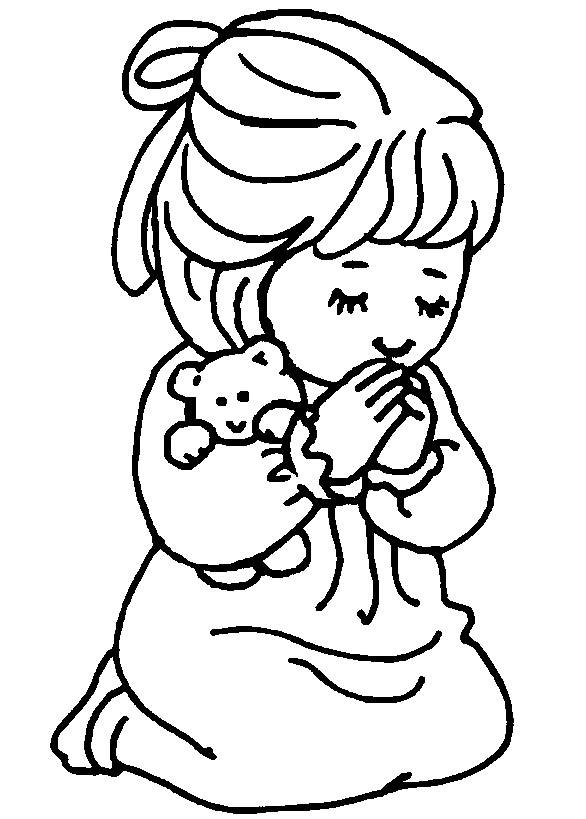 Kids christian coloring pages online ~ Christmas Coloring Page For Kids