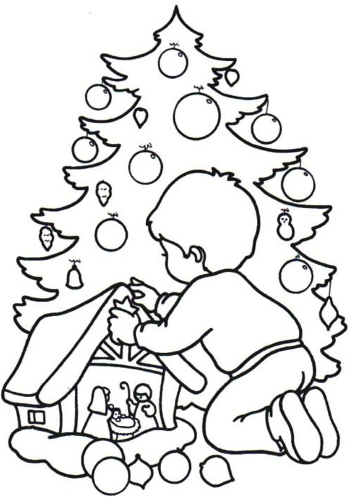 Christmas Coloring Pages Kids Printable
