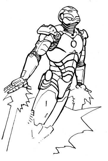 iron man coloring pages printable - Iron Man Coloring Pages Printable