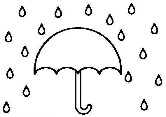 Umbrella Coloring Pages Print
