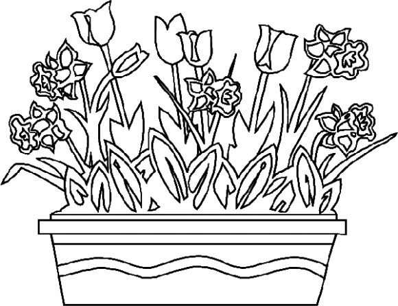 25 flower coloring pages to color Flower Coloring Pages Free Daily Printables Rainbow Coloring Pages flower coloring pages pdf
