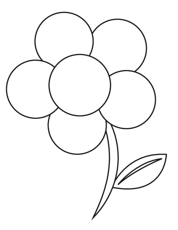 Printable Flower Coloring Pages For Kid