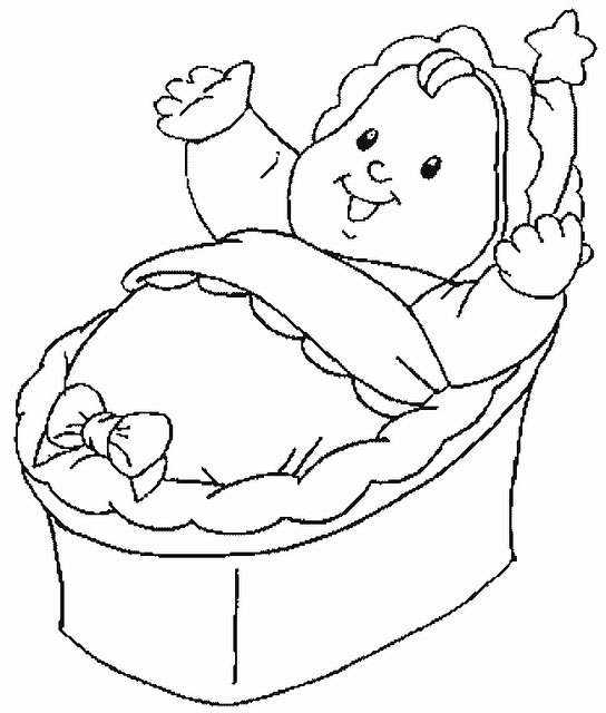 baby coloring pages free download