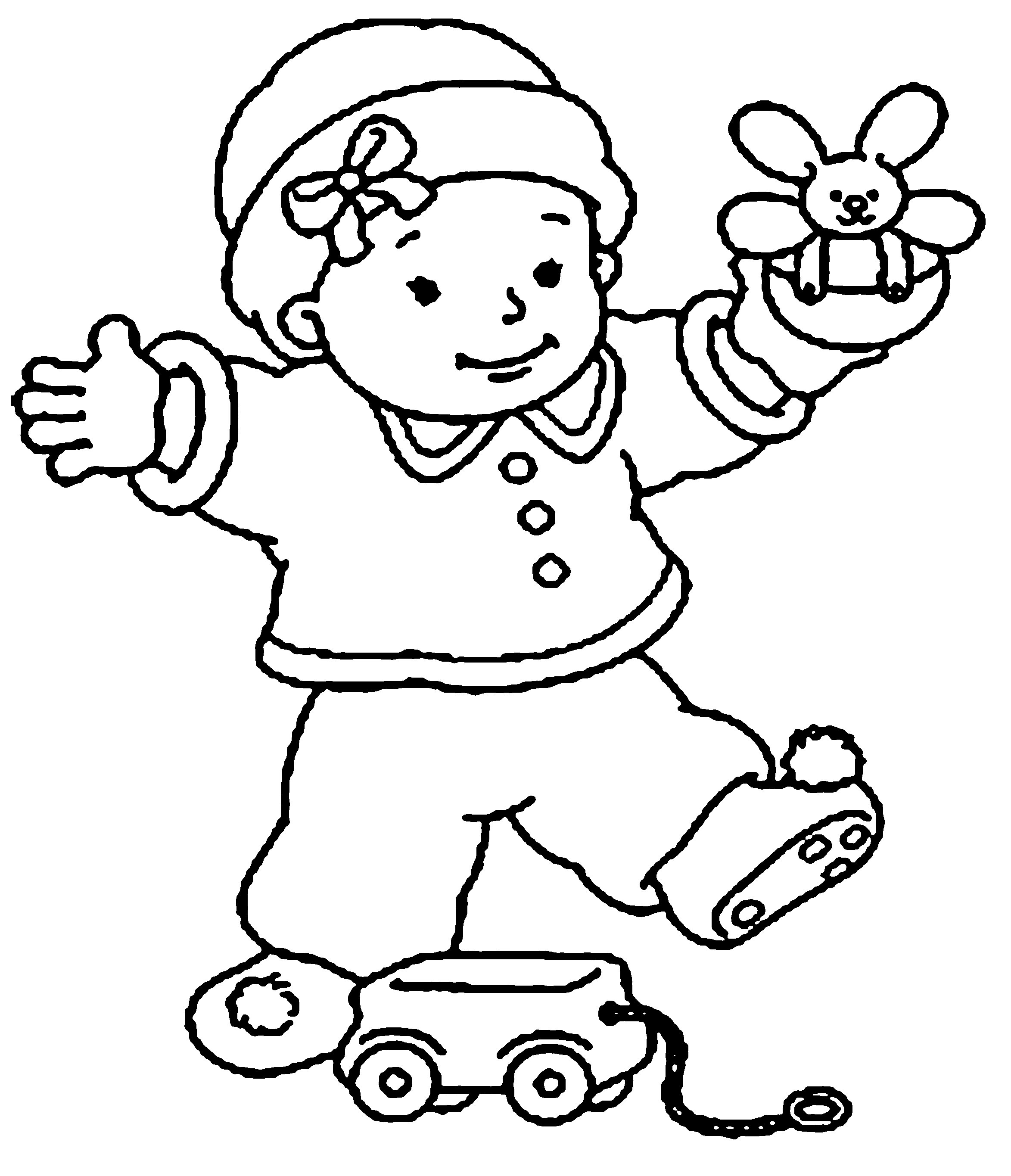 newborn baby coloring pages - baby coloring pages for download