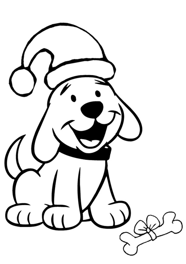 easy coloring pages christmas - photo#1