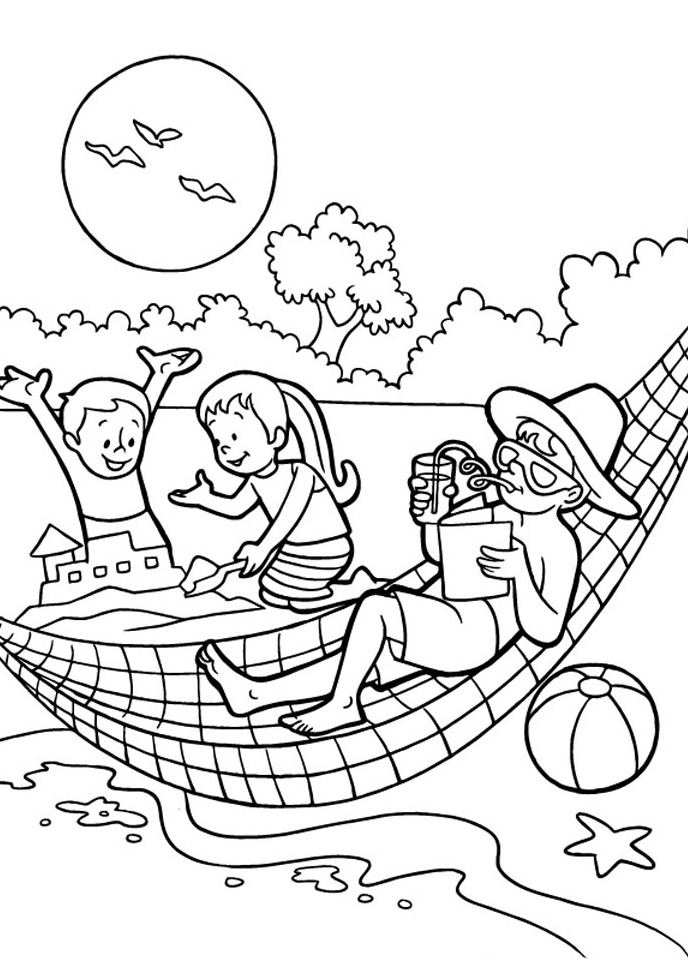 summer-beach-coloring-pagessummer-beach-coloring-pages
